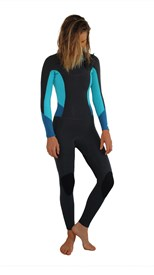 REEFLEX WETSUITS Lilly Ocean Ladies 3/2mm Chest Zip Steamer