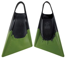 STEALTH S2 FINS - Black / Military