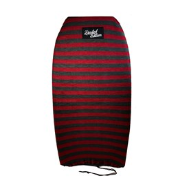 LIMITED EDITION STRETCH BODYBOARD SOCK - Red/ Grey