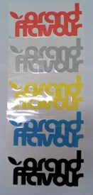 GRAND FLAVOUR - Loop Sticker - Assorted Colours