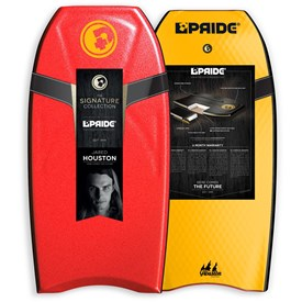 PRIDE BODYBOARDS Jared Houston Platinum Polypro Core - 2014/15 Model