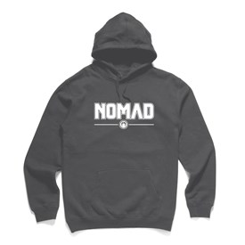 NOMAD BODYBOARDS - Corporate Logo Hood - Charcoal