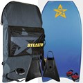 STEALTH BODYBOARDS Army Polypro Core - 2018/19 Model - Package Deal