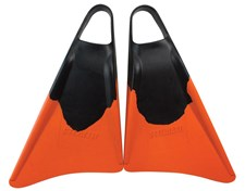 STEALTH FINS - Black and Orange