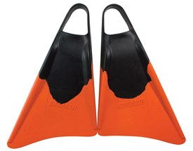 STEALTH CLASSIC FINS - Black / Orange