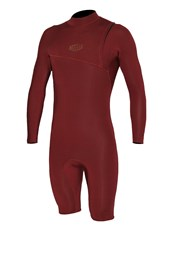 REEFLEX WETSUITS Jerry Baltic Zipperless 2/2mm Long Sleeve Springsuit - Earth Red - Winter 2017 Range