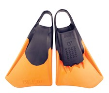 VISION SWIM FINS - Black/ Orange