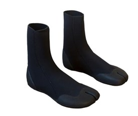 ZION WETSUITS Matrix 3mm Split Toe Booties - 2017 Winter