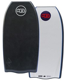 HB Bodyboards Raw Epic Polypro Core Bat Tail - 2015/16 Model