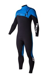 ATTICA Wetsuits - Alpha Inferno GBS 3/2mm Steamer - Black/Blue/White - 2015 Winter