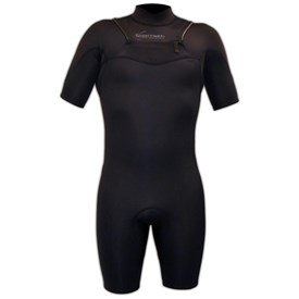 GYROLL WETSUITS Primus Neoskin 2/2mm Chest Zip GBS Springsuit  - Black - 2016/17 Model