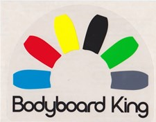 Bodyboard King Sticker