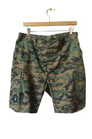 I AM NONE Under Cover Brother Camo Shorts