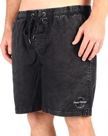 GRAND FLAVOUR Basic Shorts - Black Acid