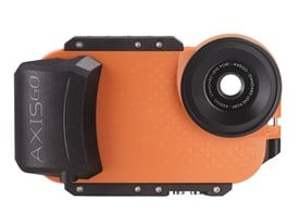 AxisGO IPhone Housing by Aquatech - Sunset Orange
