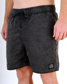 GRAND FLAVOUR Cross Country Shorts - Black Acid