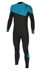 REEFLEX WETSUITS Moz Arctic 3/2mm GBS Zipperless Sealed Steamer - Blue/Graphite - 2017 Winter Range
