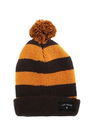 I AM NONE Brown Hornetts Beanie