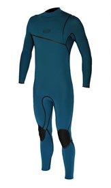 REEFLEX WETSUITS Jerry Nile 4/3mm GBS Zipperless Sealed Steamer - Marine Green - 2017 Winter Range