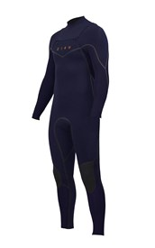 ZION WETSUITS Vault 3/2mm Liquid S-Sealed Chest Zip Steamer - Nightshade - 2nd Winter 2015 Range