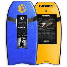 PRIDE BODYBOARDS Timeless Polypro Core - 2015/16 Model