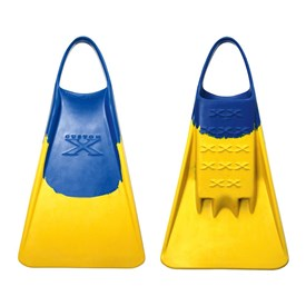 CUSTOM X FINS - BLUE/ YELLOW