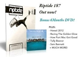 RIPTIDE ISSUE 187 + Free DVD