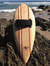 STING GLIDE Wooden Handboards - Pin Tail
