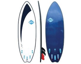 SOFTECH SOFT SURFBOARD Tom Carroll Signature Tri Quad Fin Fish - 5'10