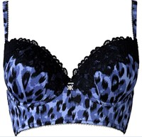 Kardashian Intimates Mahalia Bustier - Snow Leopard - ONLINE STOCK SOLD OUT - AVAILABLE IN STORE ONLY