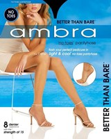 Ambra Better Than Bare No Toes Pantyhose