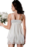 The Blonde Old Hollywood Chemise (Ivory)