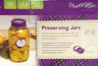 5 x 1 Litre Preserving Jars