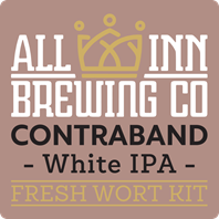 All In Contrabrand White IPA Fresh Wort