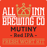 All In Mutiny Red IPA Fresh Wort