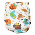 GREEN KIDS NAPPY-ANYTIMES-OWLS