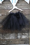 Black Tutu with built in bamboo pants