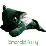 Eco Cats -Emerald Kitty