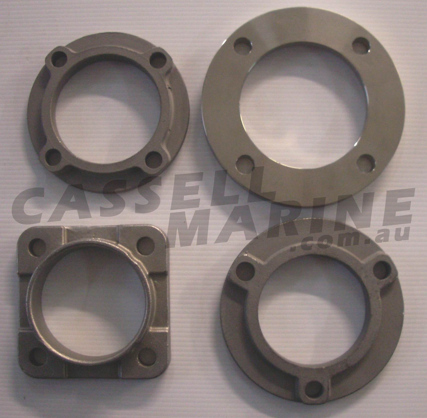 Exhaust flange suit water cooled manifold flanges