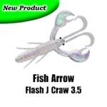 Fish Arrow Flash J Craw 3.5