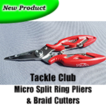 Micro Split Ring Pliers & Braid Cutters