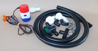 Pump - 12 volt x 500 gph with hose and hose fittings