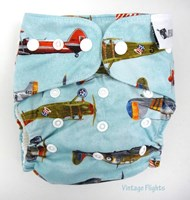 Designer Bums OSFM Cotton Nappy