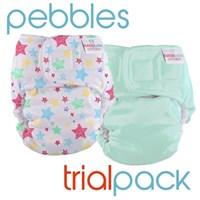Pebbles Trial Pack 2 and 4 Packs