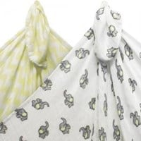 Imagine Bamboo Swaddling Blankets - 2 pack
