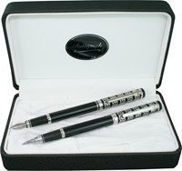 Autograph - Castle Fountain And Rollerball Pen Set
