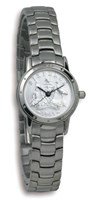 Coinwatch Contemporary Collection Womens Silver Australian Sixpence with Silver Bracelet