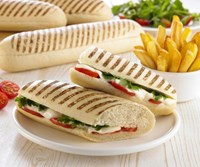 Grill Marked Panini