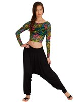 NEW, Capezio Jazzy Genie Pants, Black, Ladies (Limited Edition)