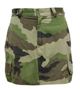 Army Used F2 French Trendy Skirt.
